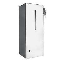 HÖR-007АSSP / HÖR-007BSSP Бесконтактный автоматический антивандальный дозатор для дезинфицирующих средств (мат/гл)
