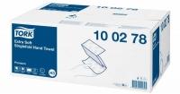 """100278 Tork """"Singlefold"""" Полотенца листовые бумажные V(ZZ) сложения ультрамягкие"""