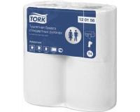 120158 Tork Туалетная бумага в стандартных рулонах (бытовая) с перфорацией 25м.
