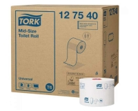 "127540 Tork ""Mid-Size"" Туалетная бумага мини рулоны 135м."