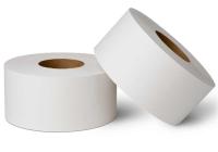 204 Туалетная бумага с перфорацией, 2-слоя, белая, 160м.