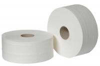 206 Туалетная бумага без перфорации, 1-слой, белая, 200м.