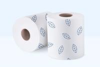 1001 Полотенца бумажные в рулонах с перфорацией, под Матик H1 (СИНИЙ ЛИСТ)