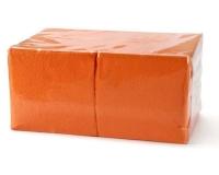 401 Салфетки бумажные сервировочные БигПак [240мм²] красные