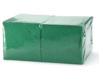 402 Салфетки бумажные сервировочные БигПак [240мм²] зелёные