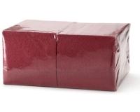 405 Салфетки бумажные сервировочные БигПак [240мм²] бордо
