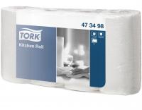 473498 Tork Полотенца бумажные в рулонах с перфорацией и тиснением (бытовые) 20м.