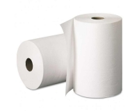 999 Полотенца бумажные в рулонах без перфорациии, 2-слоя, белые, 150м.