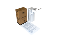 Локтевой дозатор HOR-D-004A. В ABS-пластике. Универсальный — подача средства спрей/капля