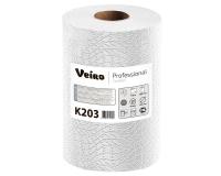 K203 Полотенца бумажные в рулонах с тиснением 170м. Veiro Professional