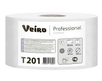 Т201 Туалетная бумага без перфорации 180м. Veiro Professional