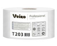 Т203 Туалетная бумага без перфорации 200м. Veiro Professional