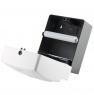 Ksitex TH-603W Диспенсер листовых полотенец Z-сложения. Материал: Ударопрочный пластик.