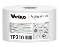 ТР210 Туалетная бумага с перфорацией центральная вытяжка 215м. Veiro Professional