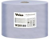 W201 Протирочный материал бумажный в рулоне 350м. Veiro Professional